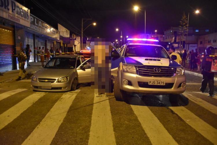 Vítima trafegava na avenida quando foi surpreendido pelo atirador - Foto: Reprodução | Blog do Anderson