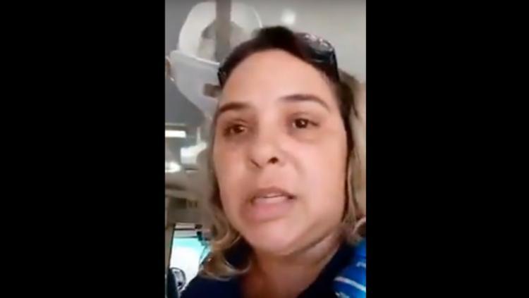Enfermeira denuncia em vídeo sobre paciente de 76 anos que não foi atendido - Foto: Reprodução   YouTube