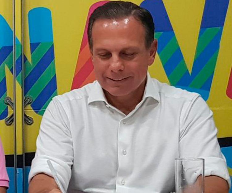 Doria também disse acreditar na prisão do ex-presidente Lula (PT) - Foto: Regina Bochicchio | Ag. A TARDE