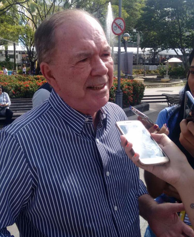 O secretário de Planejamento cedeu entrevista do domingo, 11, no Campo Grande - Foto: Regina Bochicchio   Ag. A TARDE