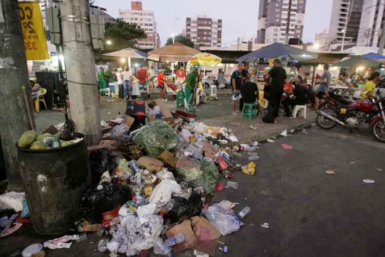 Circuito que mais de produz resíduo é o Dodô (Barra-Ondina) - Foto: Luciano da Matta | Ag. A TARDE