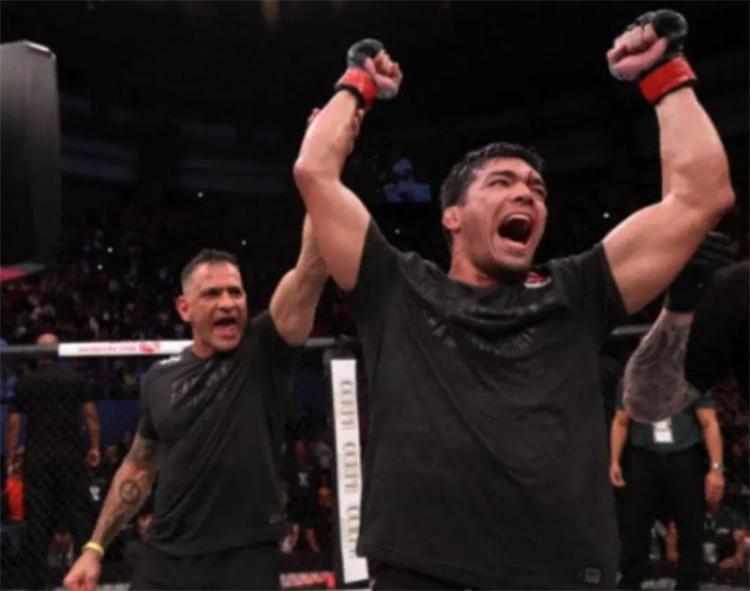 Lyoto vinha de três derrotas consecutivas na categoria peso médio - Foto: Reprodução | UFC