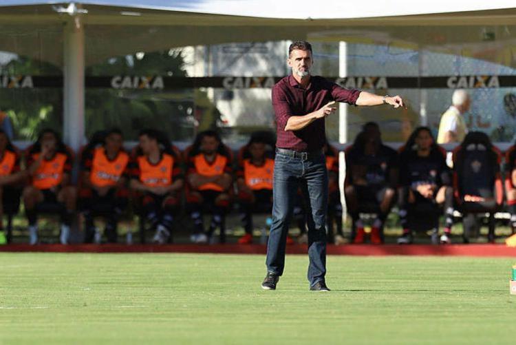 Equipe de Mancini vai enfrentar o Inter - Foto: Adilton Venegeroles | Ag. A TARDE | 18.02.2018