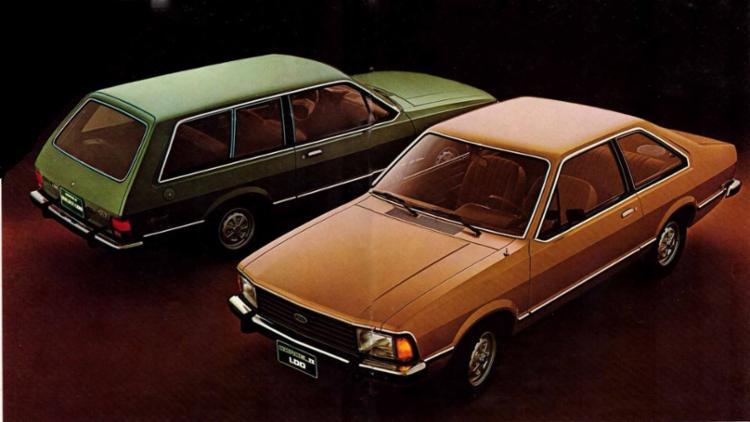 Ford Corcel era tímido na sua época, mas hoje é procurado por colecionadores - Foto: Divulgação