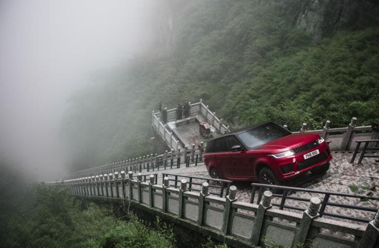Modelo percorreu a Estrada do Dragão de 11,3 km - Foto: Divulgação