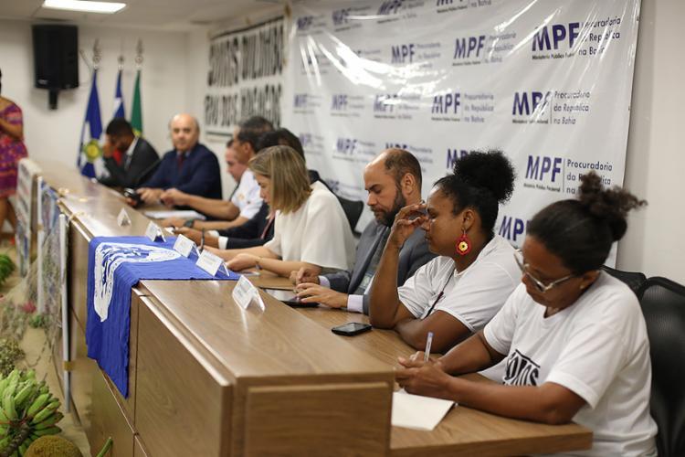 Evento foi realizado no auditório da sede do Ministério Público Federal na Bahia (MPF-BA), na avenida Paralela - Foto: Raul Spinassé l Ag. A TARDE