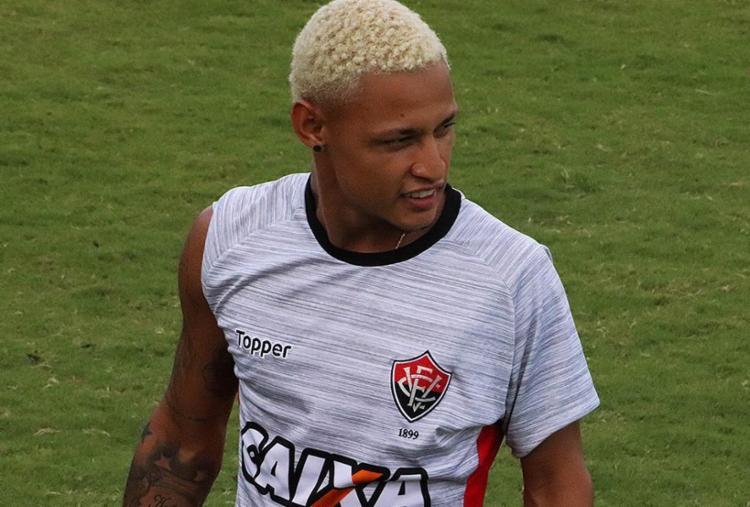 Atacante já marcou cinco gols pelo Leão em 2018 - Foto: Maurícia da Matta l EC Vitória