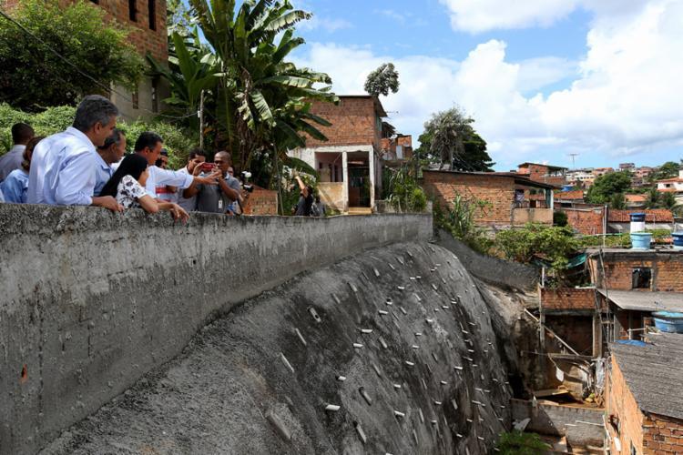 Encosta possui 435 metros quadrados - Foto: Manu Dias | GOVBA
