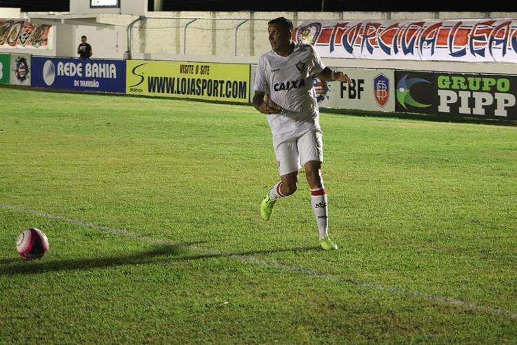 Lateral Pedro Botelho marcou o gol do Leão - Foto: André Hiltner l EC Vitória
