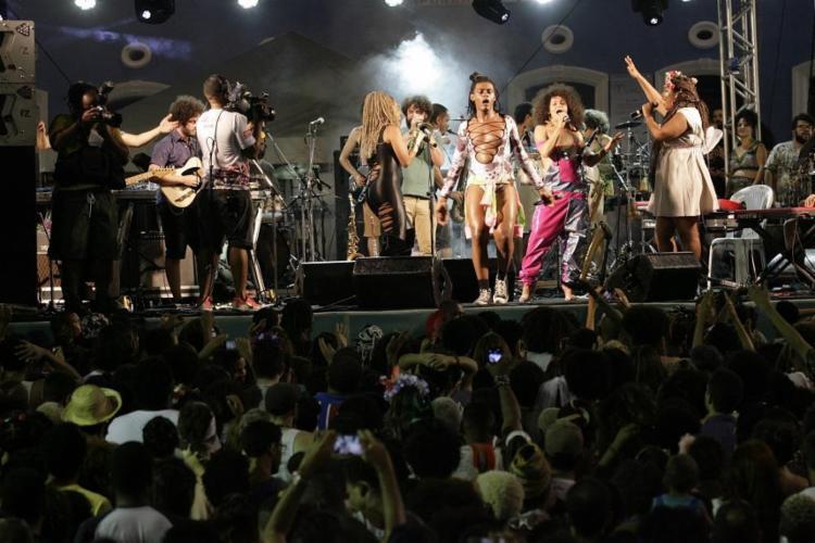 Show de Liniker e As Bahias e a Cozinha Mineira no Carnaval do ano passado - Foto: Mila Cordeiro / Ag. A TARDE