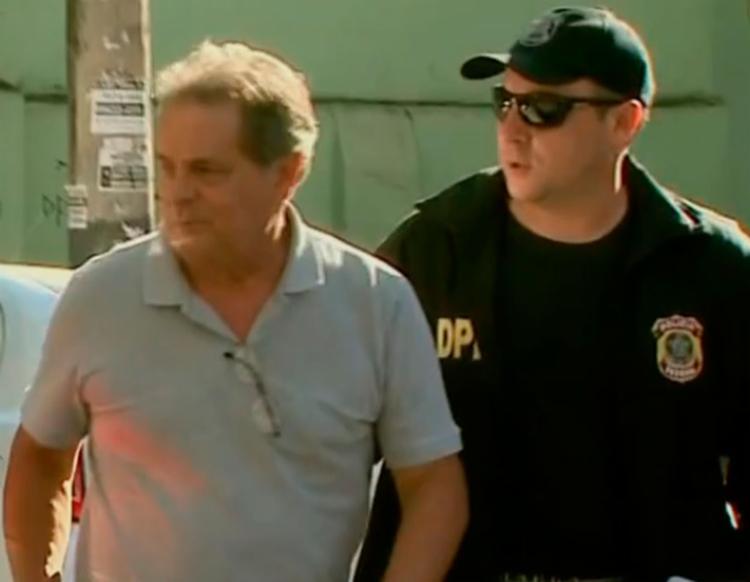 Em 2016 Luiz foi condenado por por lavagem e pertinência à organização criminosa - Foto: Reprodução   Globo News