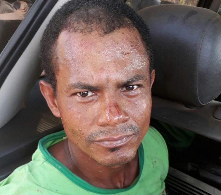 Rairone está detido na delegacia de Eunápolis, a 643 km de Salvador - Foto: Divulgação   Polícia Civil