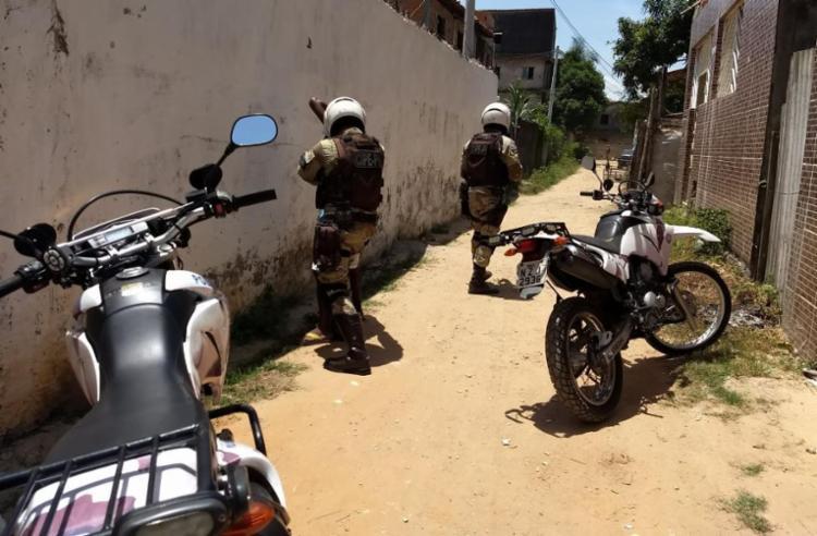 Durante o patrulhamento 202 pessoas foram abordadas - Foto: Divulgação | SSP-BA