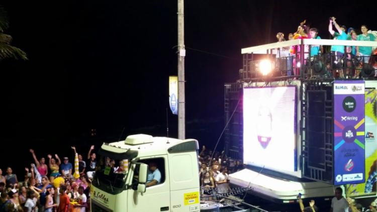 Bloco da Preta desfila pelo Circuito Dodô (Barra-Ondina) neste sábado - Foto: Thaís Seixas | Ag. A TARDE