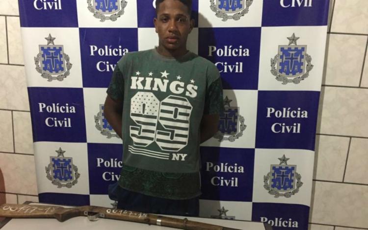Manoel Pires foi autuado em flagrante e segue à disposição da Justiça - Foto: Divulgação | Polícia Civil
