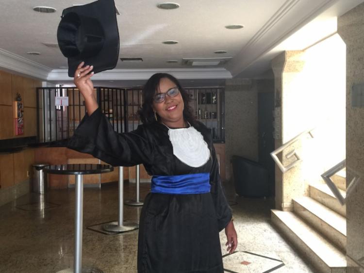 Fernanda dos Santos foi contemplada com uma bolsa de 50% do curso de Comunicação Social com Habilitação em Jornalismo - Foto: Arquivo Pessoal