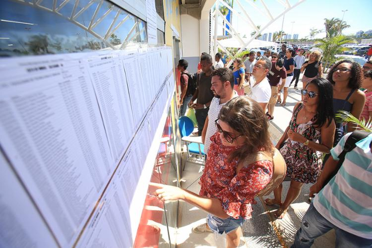 Provas foram realizadas em dois períodos neste domingo - Foto: Mila Cordeiro l Ag. A TARDE