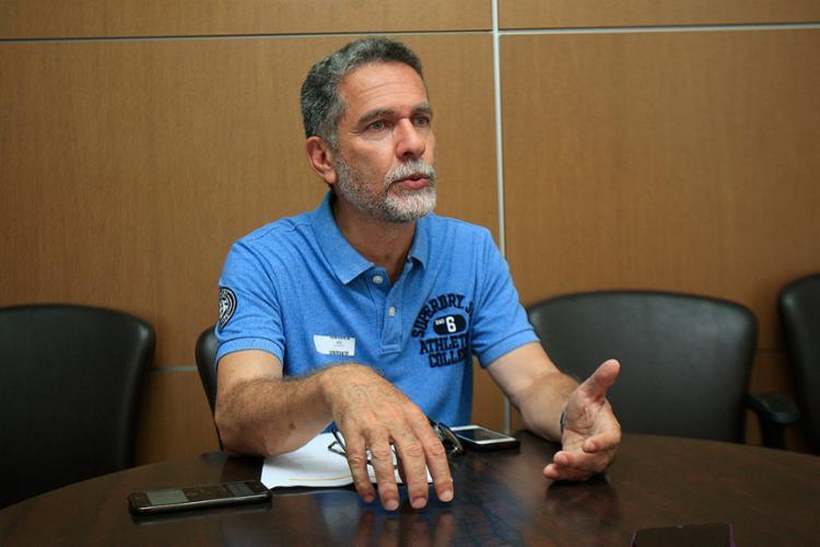 Ricardo David já havia criticado leitura labial feita por profissional que torce para o Bahia - Foto: Alessandra Lori l Ag. A TARDE