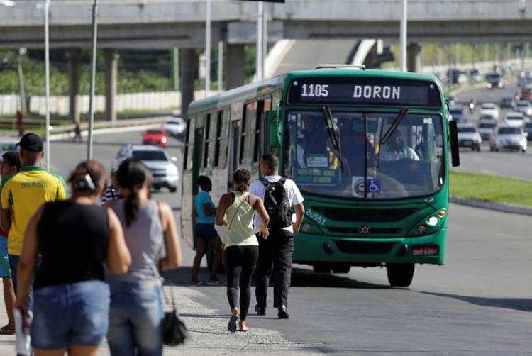 Rodoviários podem paralisar em alguns pontos de Salvador - Foto: Joá Souza | Ag. A TARDE