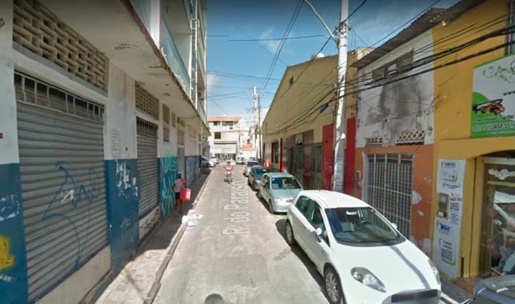 Crime aconteceu na rua do Paraíso, no bairro de Nazaré - Foto: Reprodução | Google Maps
