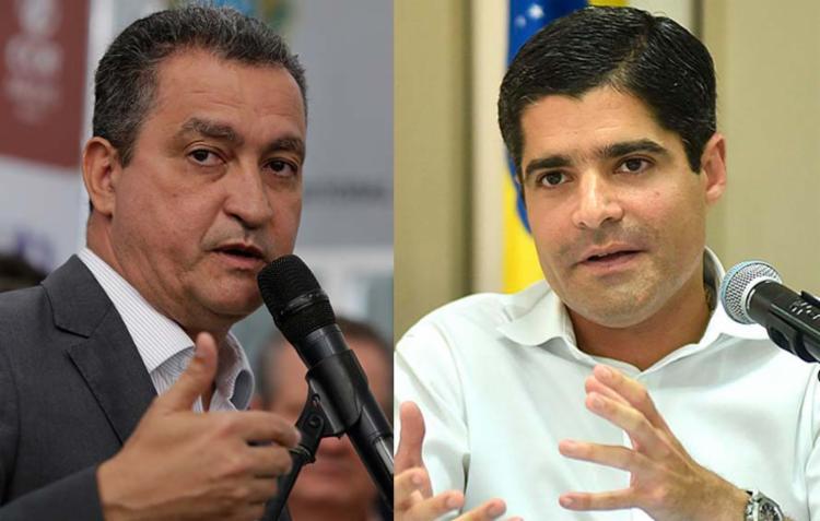 Rui Costa já está confirmado como candidato; já ACM Neto vai decidir se disputa em abril - Foto: Xando Pereira | Ag. A TARDE e Max Haack | Divulgação