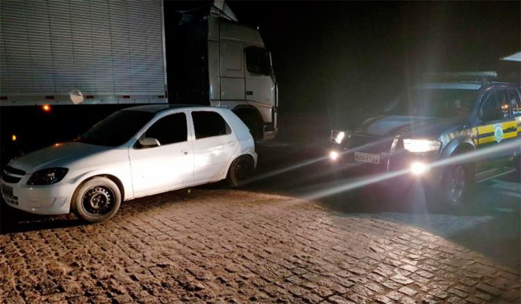 Motorista apresentou documento falsificado - Foto: Divulgação   PRF