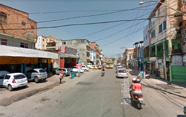 O crime aconteceu na rua Régis Pacheco, no Uruguai - Foto: Reprodução | Google Maps