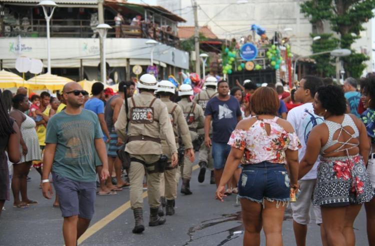 O crime aconteceu nas imediações do circuito Furdunço, na Barra - Foto: Divulgação | SSP-BA