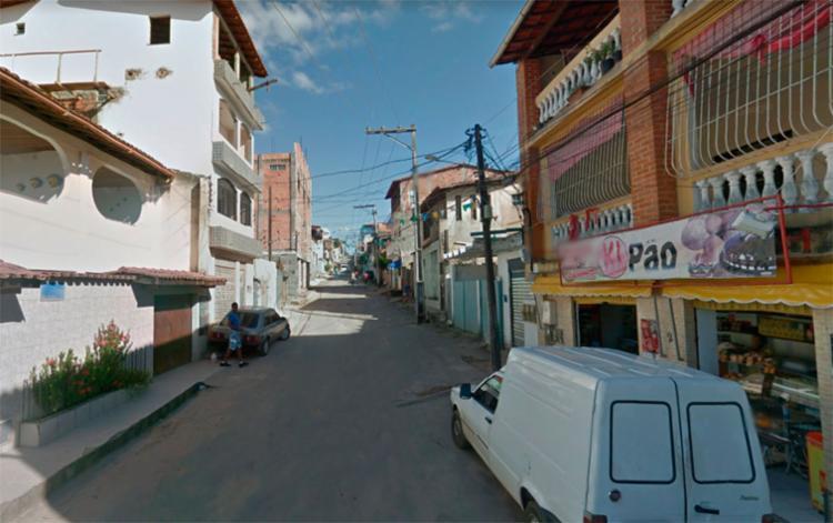O crime aconteceu na rua da Ilha em Itapuã - Foto: Reprodução | Google Maps