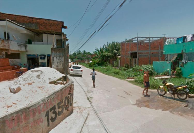 O crime aconteceu na rua Charles Bronson, em Paripe - Foto: Reprodução | Google Maps
