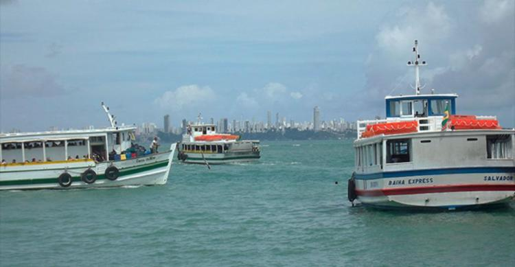 Mau tempo impede travessia de lancha para Mar Grande - Foto: Divulgação | Astramab