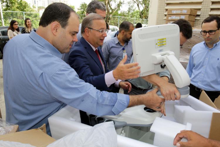 Os equipamentos representam um investimento de R$ 450 mil - Foto: Leonardo Rattes/GOVBA