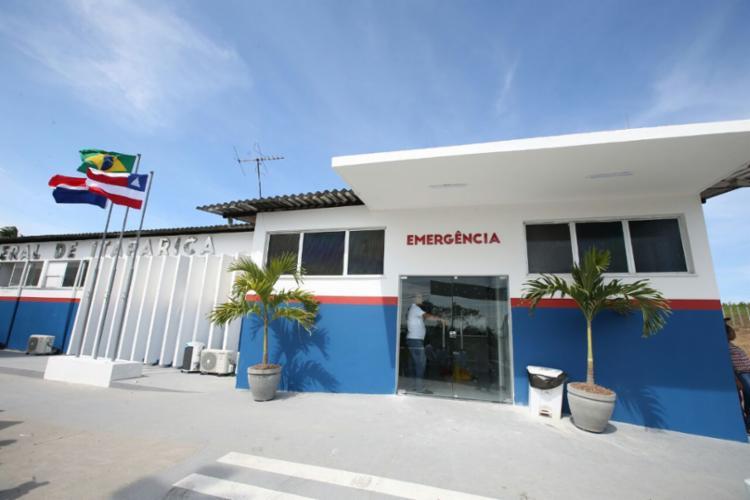65 mil baianos de Itaparica e Vera Cruz serão beneficiados com a inauguração da sala de estabilização do hospital - Foto: Mateus Pereira/GOVBA