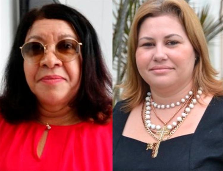 Sindicalista Marlede Oliveira (à esquerda) moveu ação por danos morais contra Jayana - Foto: Reprodução | Acorda Cidade