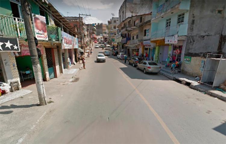 Crime aconteceu no bairro de Triângulo, em Candeias - Foto: Reprodução | Google Street View