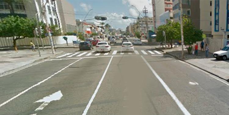 Sinaleiras da avenida Manoel Dias pararam de funcionar por falta de energia - Foto: Reprodução | Google Street View