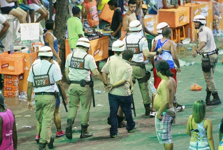 Segundo a SSP-BA, houve uma redução de 35% este ano - Foto: Joá Souza   Ag. A TARDE   16.02.2015