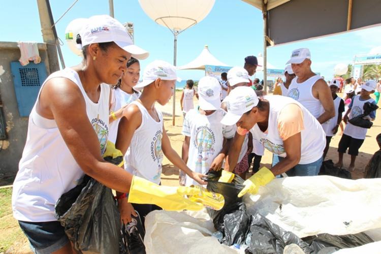 Ações de reciclagem fazem parte da programação do projeto - Foto: Divulgação