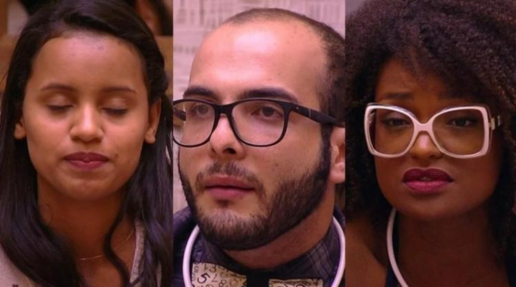 Gleici, Nayara e Mahmoud estão no paredão