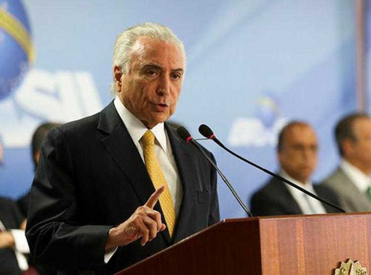 Presidente discursou em rede nacional para explicar intervenção federal na segurança do Rio de Janeiro - Foto: Marcelo Camargo l Agência Brasil