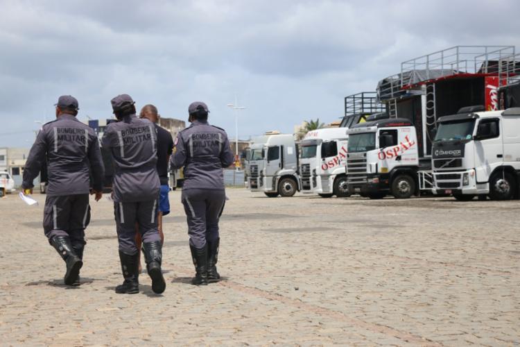 Vistoria está por conta do Corpo de Bombeiros e o Departamento de Polícia Técnica - Foto: Divulgação | SSP