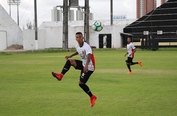 Vitória finalizou preparação para o jogo no CT do América-RN - Foto: Moysés Suzart l EC Vítória