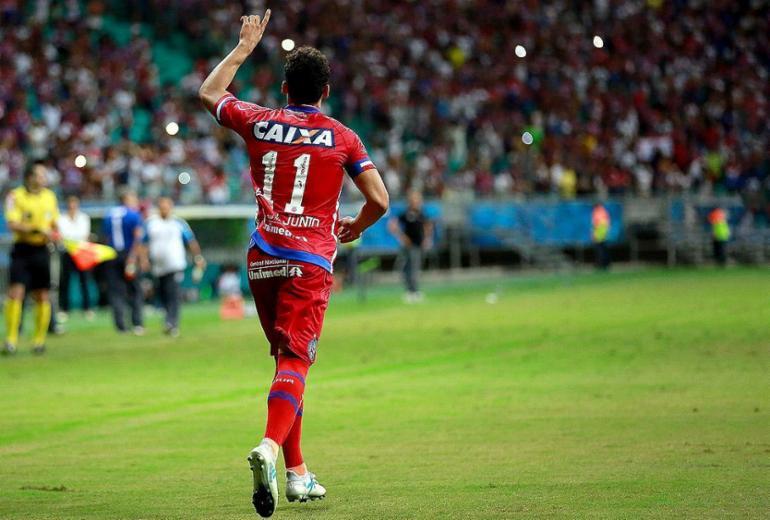 Bahia amplia o placar contra o Náutico na Fonte Nova; acompanhe os lances! | Felipe Oliveira l EC Bahia