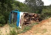 Acidente com ônibus escolar deixa treze feridos em São Desidério | Foto: Reprodução | Blog Sigi Vilares