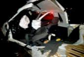 Batida entre caminhonetes deixa dois mortos na BA-046 | Foto: Reprodução | Voz da Bahia