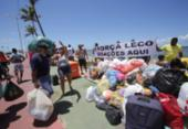 Campanha para casal sobrevivente de desabamento chama atenção em Pituaçu | Foto: Margarida Souza | Ag. A TARDE