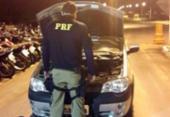 Carro roubado é encontrado estacionado em Ribeira do Pombal | Foto: Divulgação | PRF