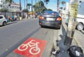 Obstruir ciclovia gera 154 multas por mês em Salvador | Foto: Joá Souza | Ag. A TARDE