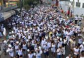 Caminhada pela paz reúne centenas de fiéis no Bonfim | Foto: Margarida Neide l Ag. A TARDE