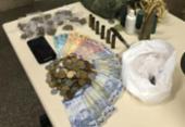 Presa quadrilha de tráfico e roubo que agia em Mucugê | Foto: Divulgação | SSP